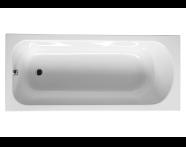 53300002000 - Optiset 170x75 Rec. SE Body w Grip Holes