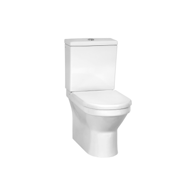 S50 Back-To-Wall Close-Coupled WC Pan with Universal Outlet without Bidet Pipe