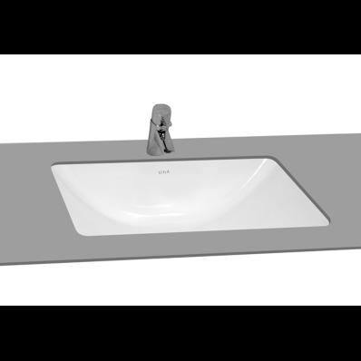 S50 Undercounter Washbasin, 48 cm