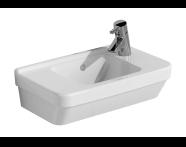 5344L003-0028 - S50 Compact Basin, 50x28 cm, Lh