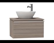 53531 - System Fit Washbasin Unit 60 cm