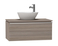 53547 - System Fit Washbasin Unit 80 cm