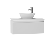 53549 - System Fit Washbasin Unit 80 cm
