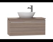 53551 - System Fit Washbasin Unit 80 cm