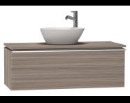 53563 - System Fit Washbasin Unit 100 cm