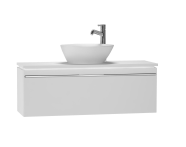 53565 - System Fit Washbasin Unit 100 cm