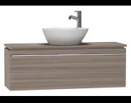 53567 - System Fit Washbasin Unit 100 cm