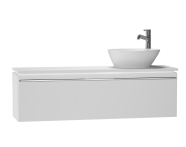 53597 - System Fit Washbasin Unit 120 cm (Right)
