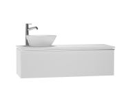 53609 - System Fit Washbasin Unit 120 cm (Left)