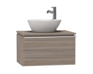 53643 - System Fit Washbasin Unit 60 cm