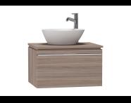 53647 - System Fit Washbasin Unit 60 cm