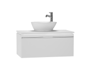53661 - System Fit Washbasin Unit 80 cm