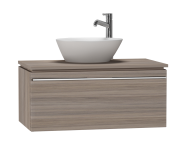 53663 - System Fit Washbasin Unit 80 cm