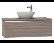 53675 - System Fit Washbasin Unit 100 cm