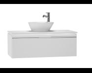 53677 - System Fit Washbasin Unit 100 cm