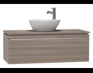 53679 - System Fit Washbasin Unit 100 cm