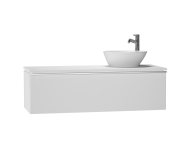 53705 - System Fit Washbasin Unit 120 cm (Right)