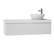 53709 - System Fit Washbasin Unit 120 cm (Right)