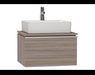 53755 - System Fit Washbasin Unit 60 cm