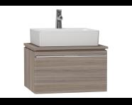 53759 - System Fit Washbasin Unit 60 cm