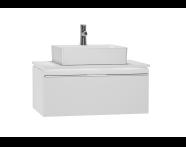 53773 - System Fit Washbasin Unit 80 cm