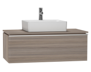 53787 - System Fit Washbasin Unit 100 cm