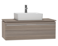53791 - System Fit Washbasin Unit 100 cm