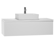 53801 - System Fit Washbasin Unit 120 cm (Middle)