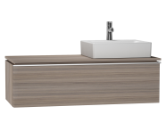 53819 - System Fit Washbasin Unit 120 cm (Right)
