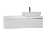 53821 - System Fit Washbasin Unit 120 cm (Right)