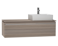 53823 - System Fit Washbasin Unit 120 cm (Right)