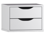 54020 - System Fit Tall Unit Accessory- 2 Drawers