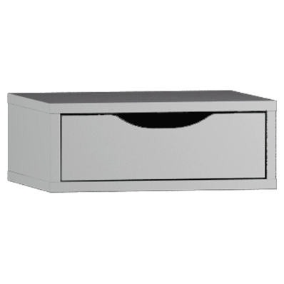 System Fit Tall Unit Accessory- Make-Up Drawer