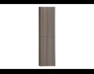 54024 - System Fit Tall Unit, Grey Oak, Left