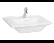 5407B095-0001 - S50 Vanity Basin, 60 cm