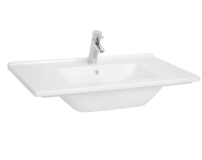 5408B003-0001 - S50 Vanity Basin, 80cm with Middle Tap Hole, with Side Holes