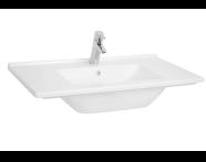5408B095-0001 - S50 Vanity Basin, 80 cm