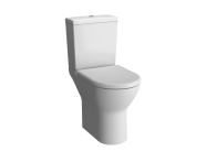 5421L003-7200 - S50 Comfort Height Close-Coupled WC Pan, Open Back