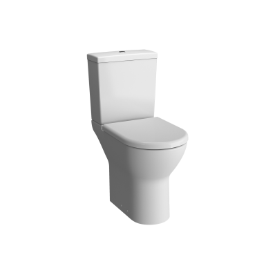 S50 Comfort Height Close-Coupled WC Pan, Open Back