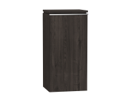 54248 - System Fit Medium Unit Grey Oak Right 40 cm