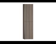 54264 - System Fit Tall Unit, Grey Oak, Right