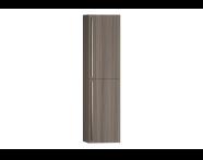 54268 - System Fit Tall Unit, Grey Oak, Right