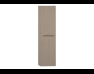 54299 - Folda Tall Unit (Light Oak) Right