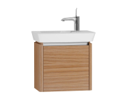 54538 - T4 Compact Washbasin Unit 50 cm (Right), Hacienda Brown