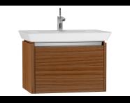 54562 - T4 Washbasin Unit 70cm, Hacienda Brown