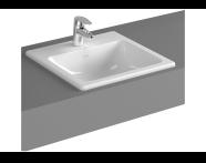 5463B095-0001 - S20 Countertop Basin, 45 cm