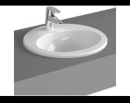5466B095-0001 - S20 Countertop Basin, 45 cm