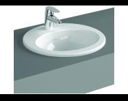 5468B095-0001 - S20 Countertop Basin, 55 cm