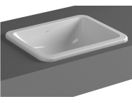5473B003-0642 - S20 Square Countertop Basin, 45 cm