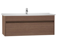 54748 - S50 + Washbasin Unit 120 cm Dark Oak